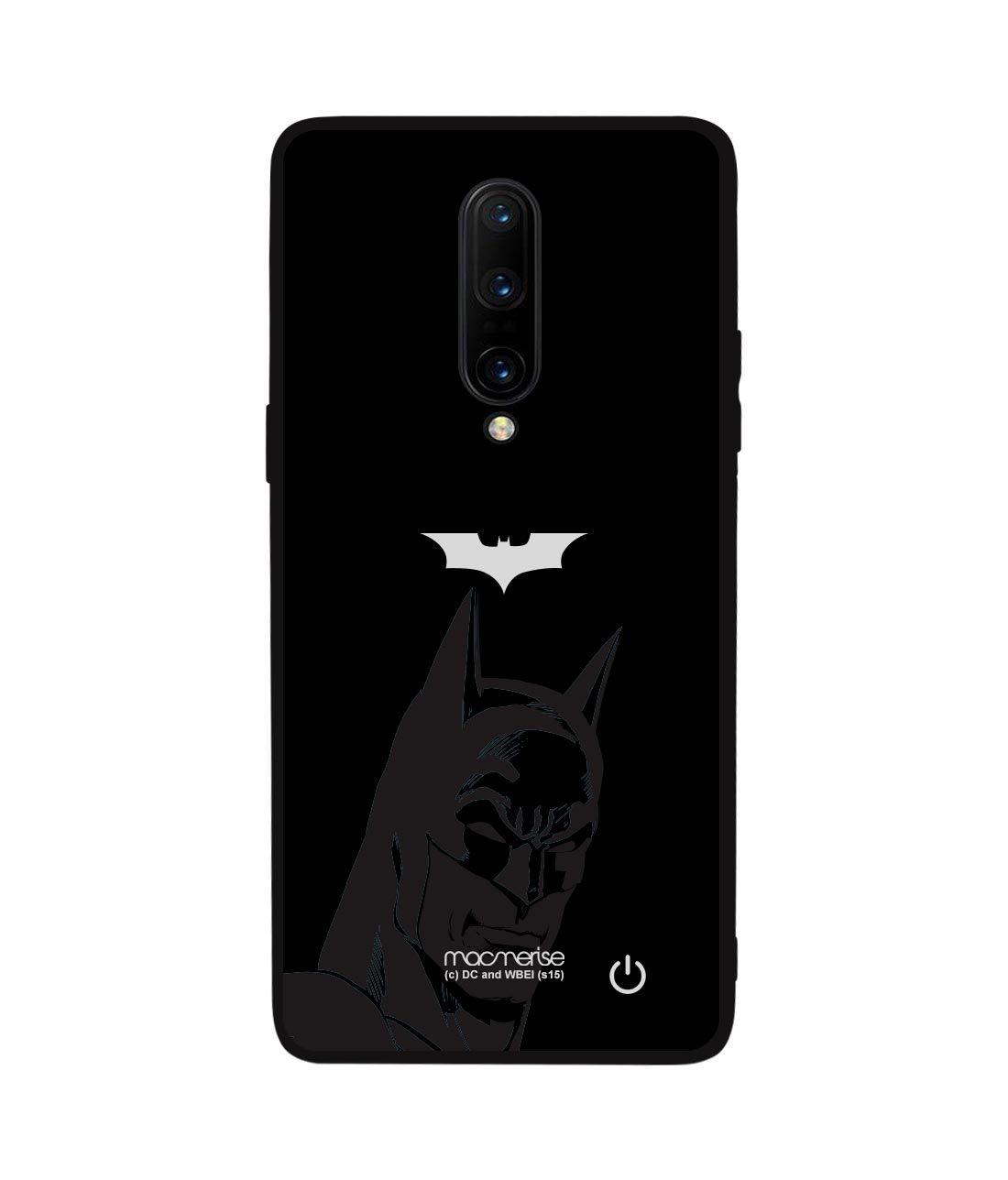 Silhouette Batman - Lumous LED Phone Case for OnePlus 8