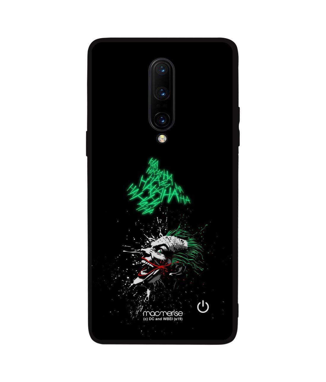 Sinister Joker Laugh - Lumous LED Phone Case for OnePlus 8