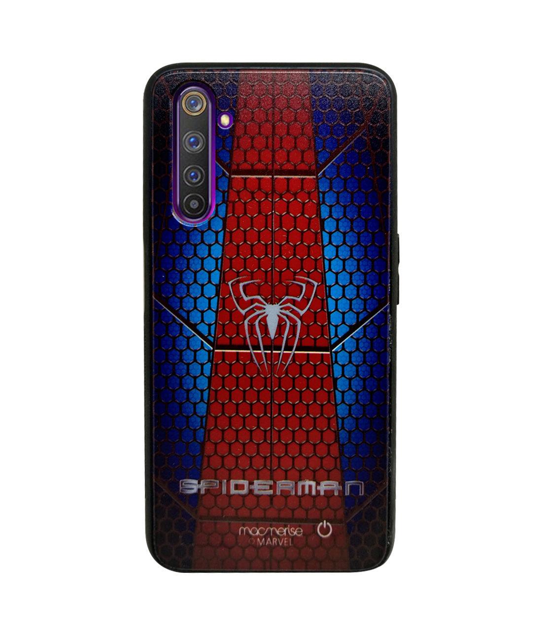 Spider Web Suit - Lumous LED Phone Case for Realme 6 Pro