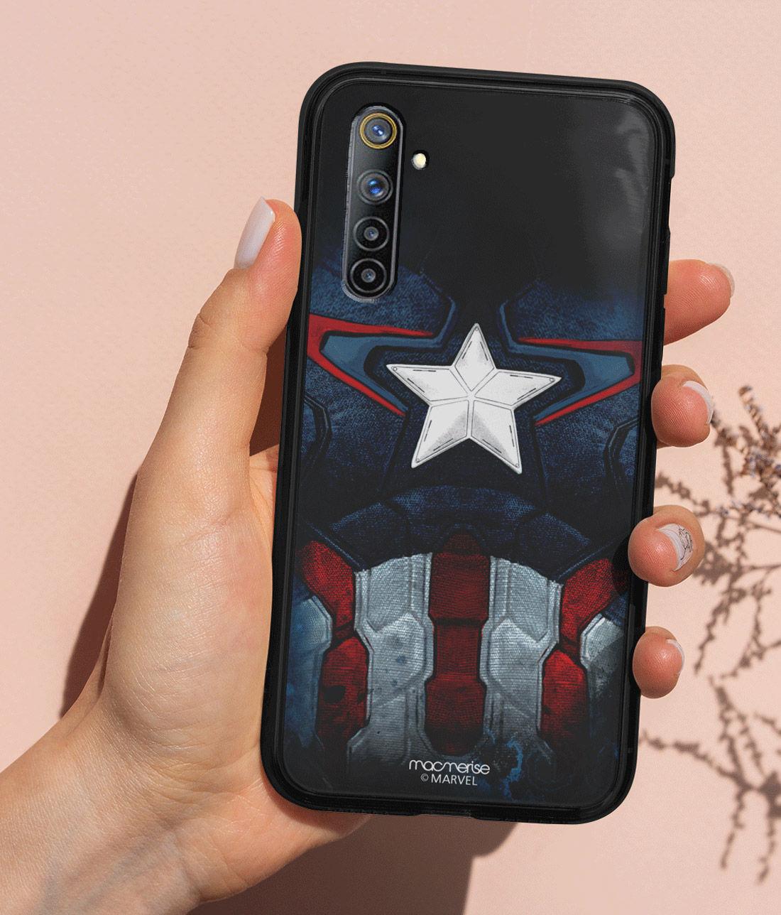 Cap Am Suit - Lumous LED Phone Case for Realme 6