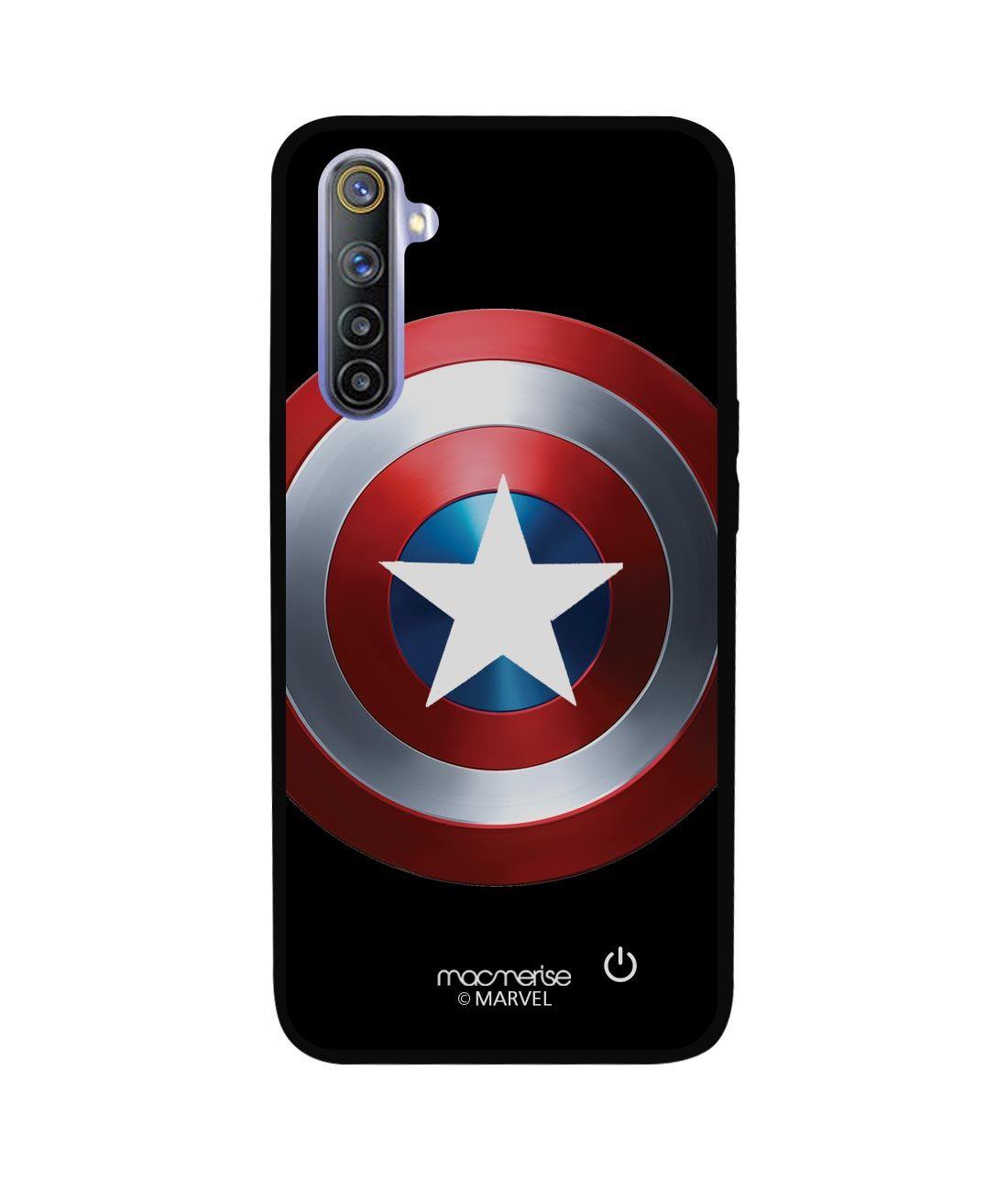 Classic Captains Shield - Lumous LED Phone Case for Realme 6