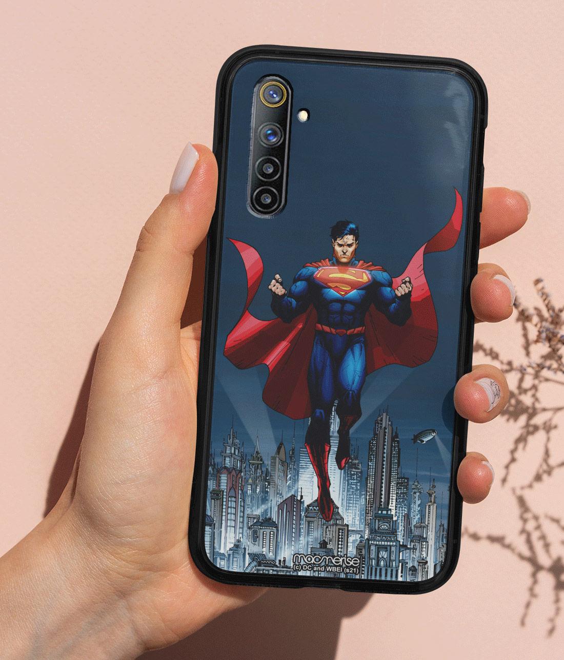 Metropolis Savior - Lumous LED Phone Case for Realme 6