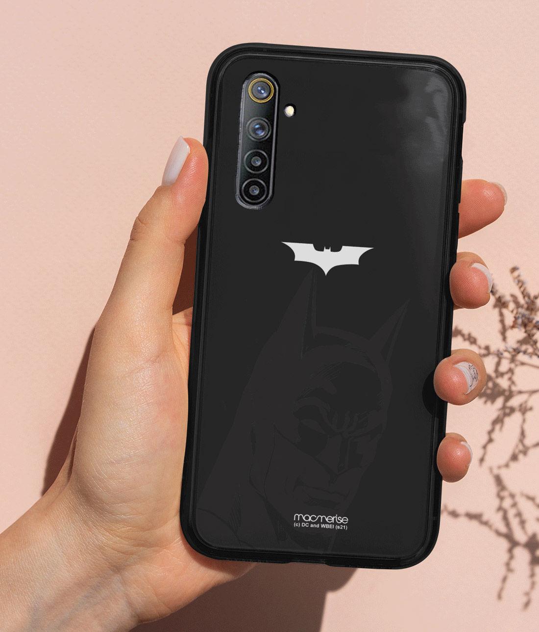 Silhouette Batman - Lumous LED Phone Case for Realme 6