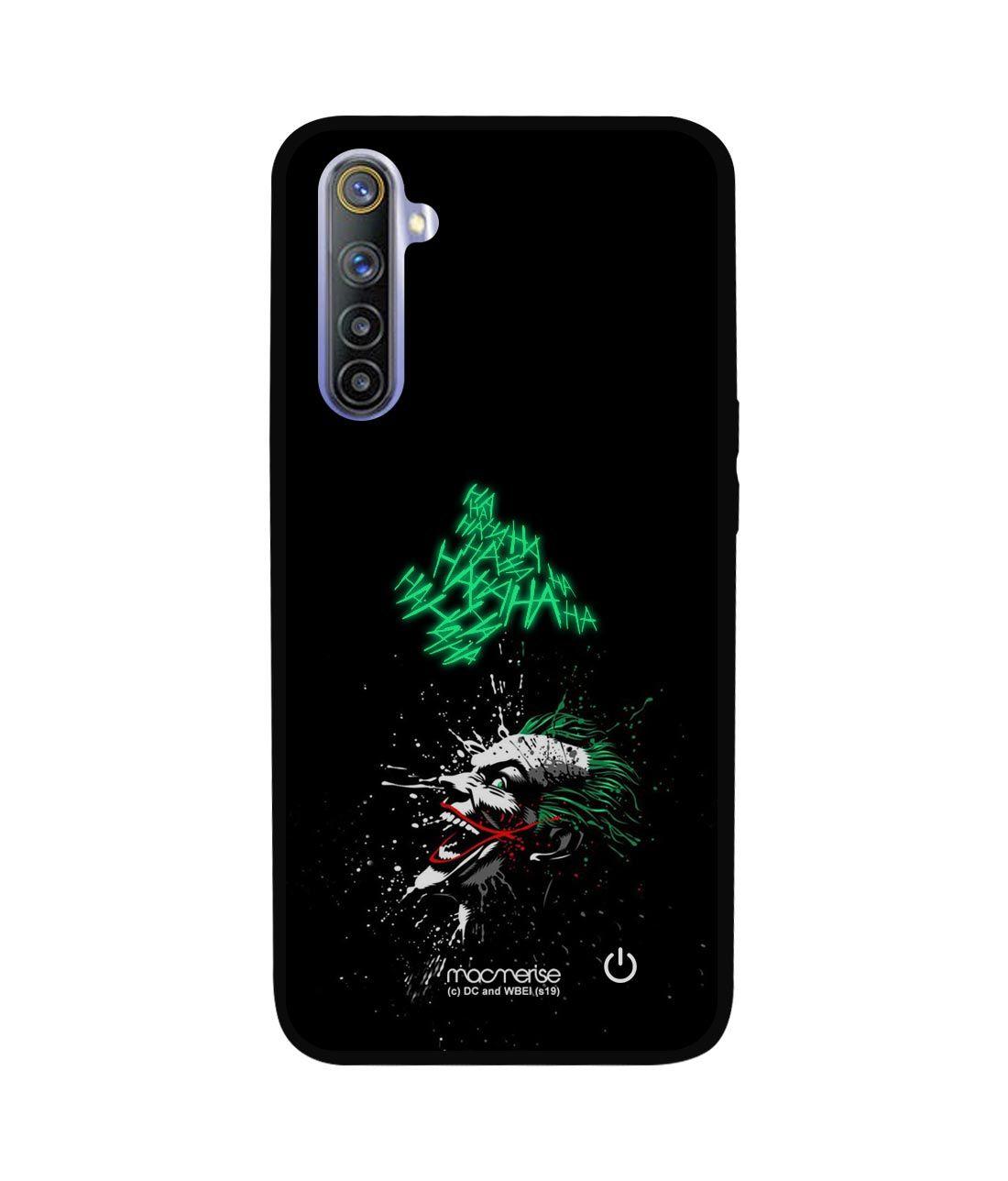Sinister Joker Laugh - Lumous LED Phone Case for Realme 6