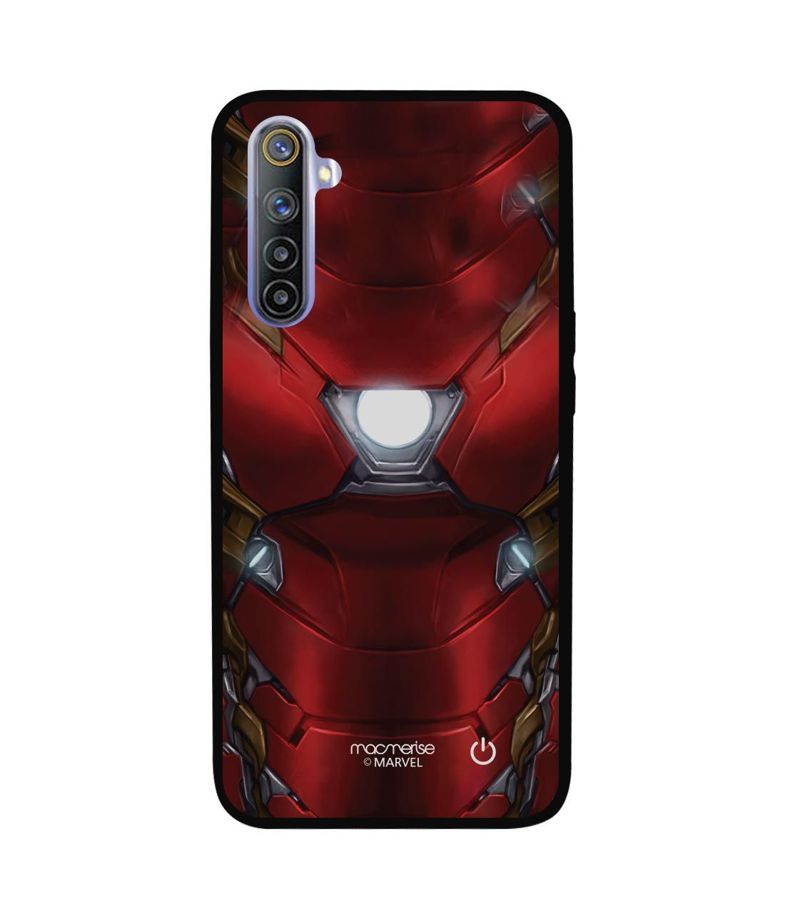 Suit up Ironman - Lumous LED Phone Case for Realme 6