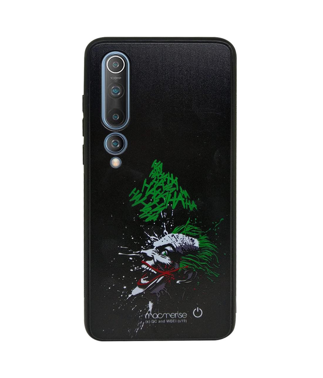 Sinister Joker Laugh - Lumous LED Phone Case for Xiaomi Mi 10
