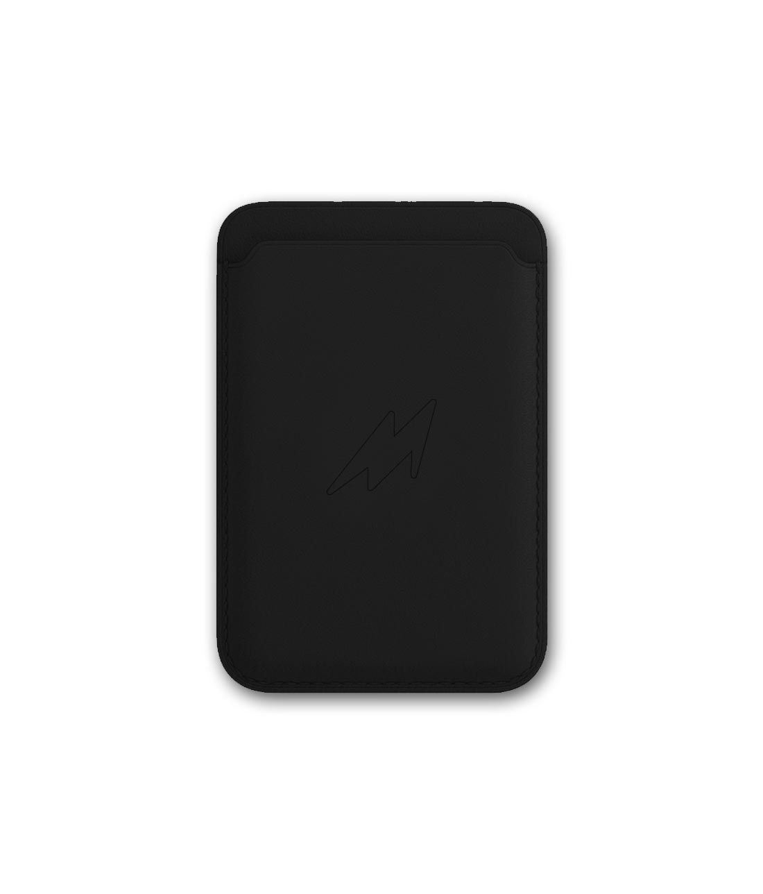 Leather Case Black - Magsafe Card Case