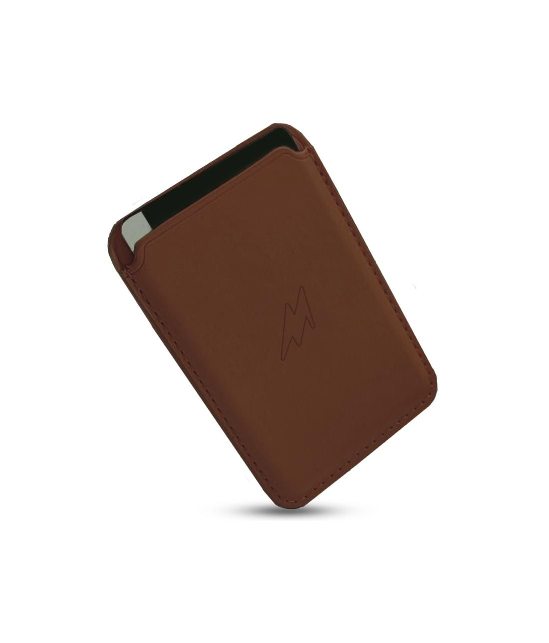 Leather Case Tan Brown - Magsafe Card Case