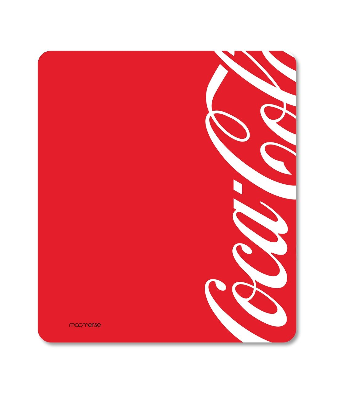 Coke Red White - Macmerise Mouse Pad