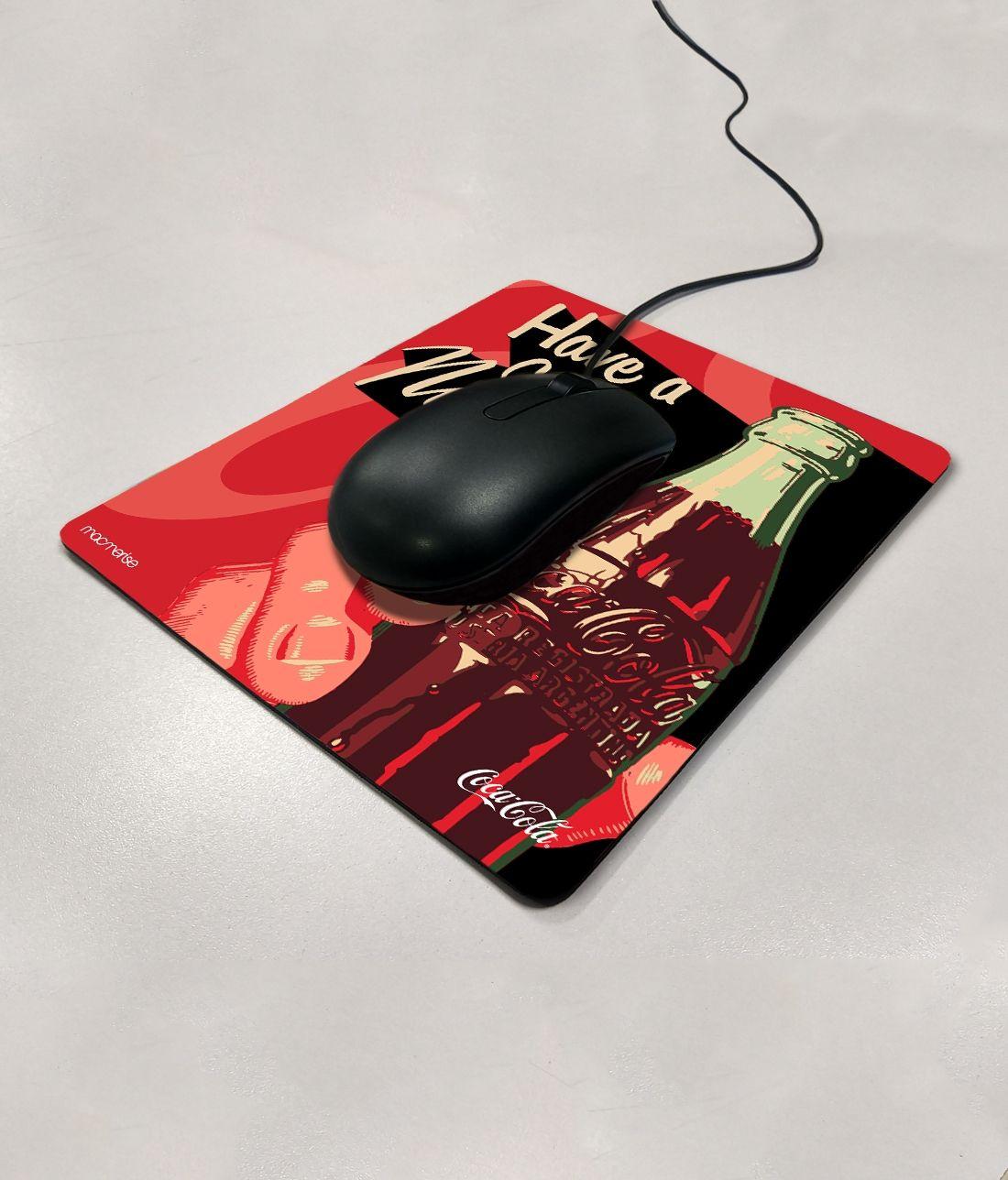 Have A Coke Now - Macmerise Mouse Pad