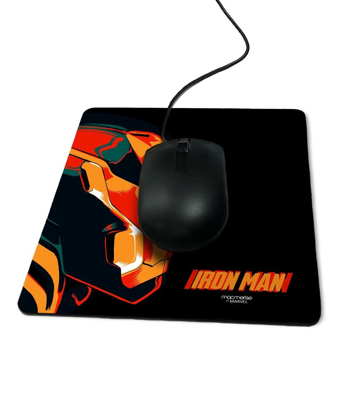 Illuminated Ironman - Macmerise Mouse Pad