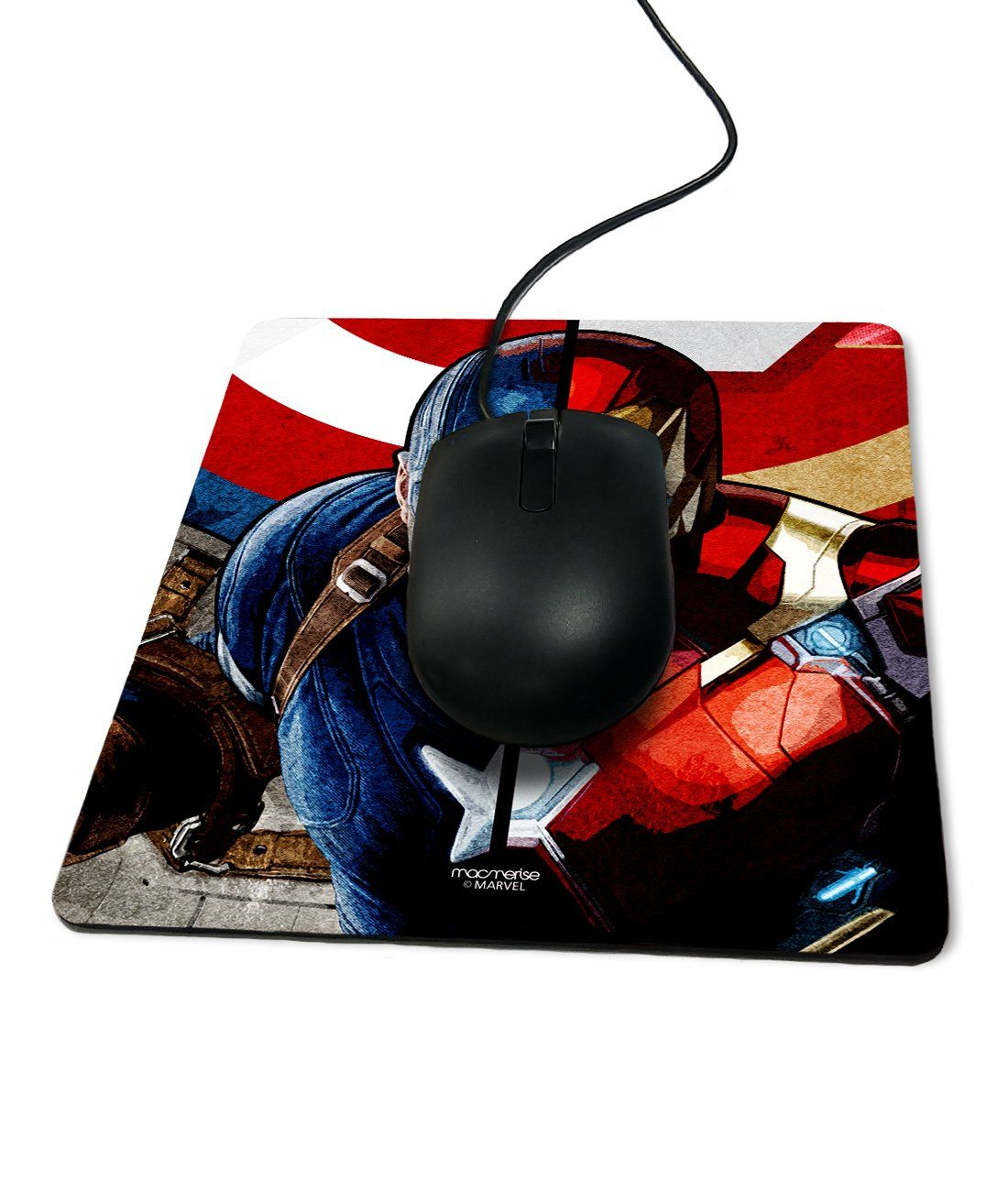 Man vs Machine - Macmerise Mouse Pad