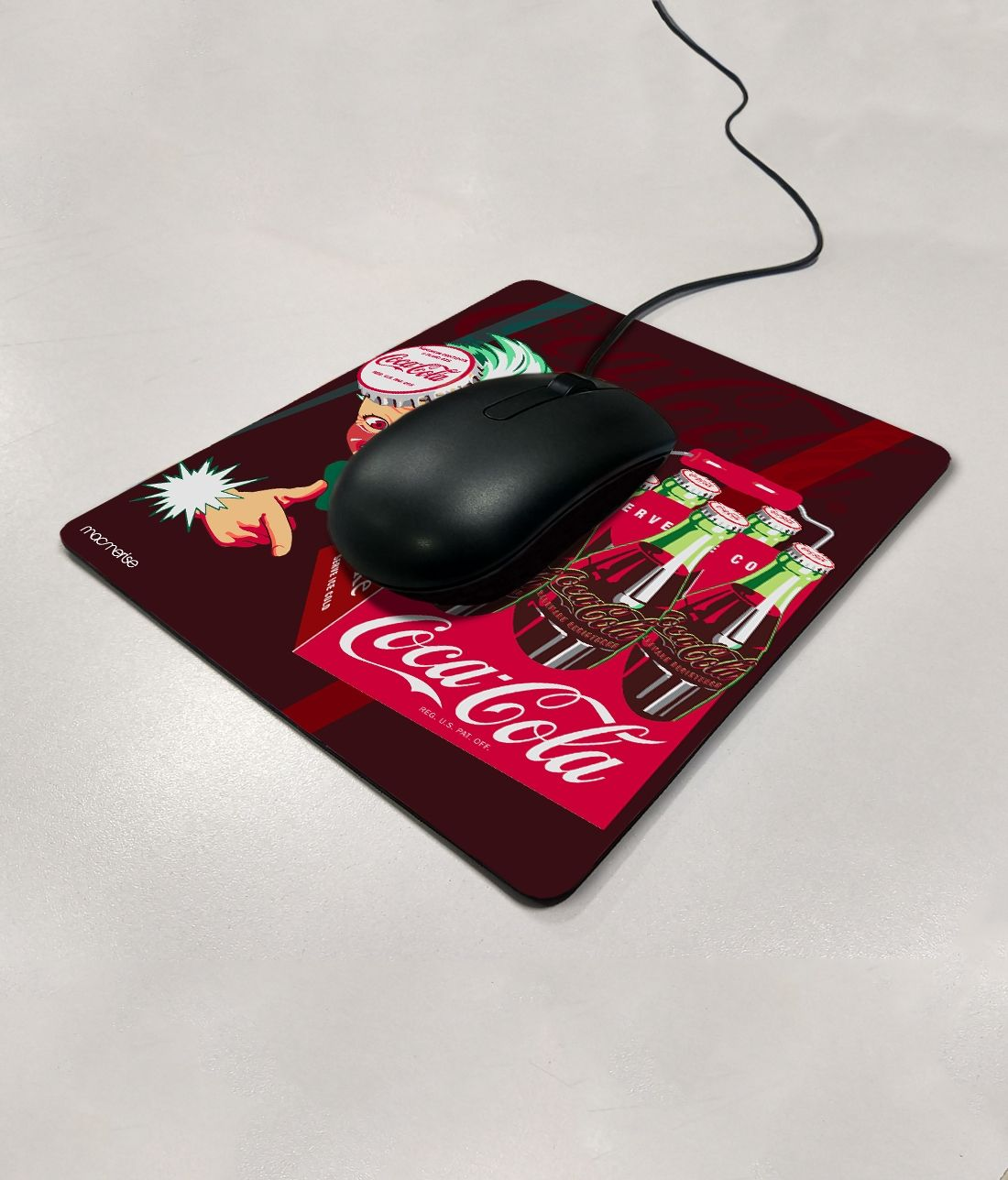 Time To Refresh - Macmerise Mouse Pad