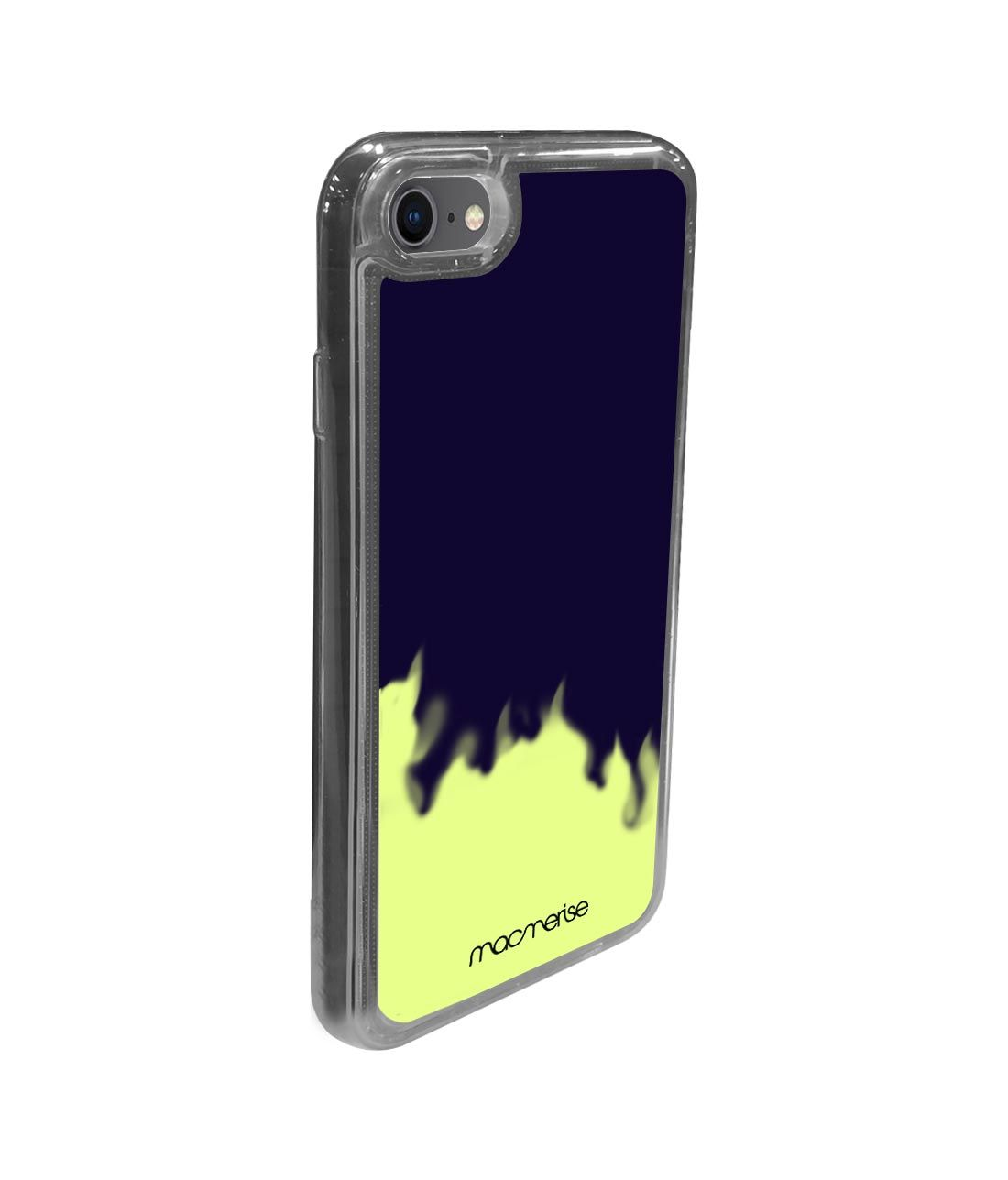 Neon Sand Blue - Neon Sand Phone Case for iPhone SE (2020)