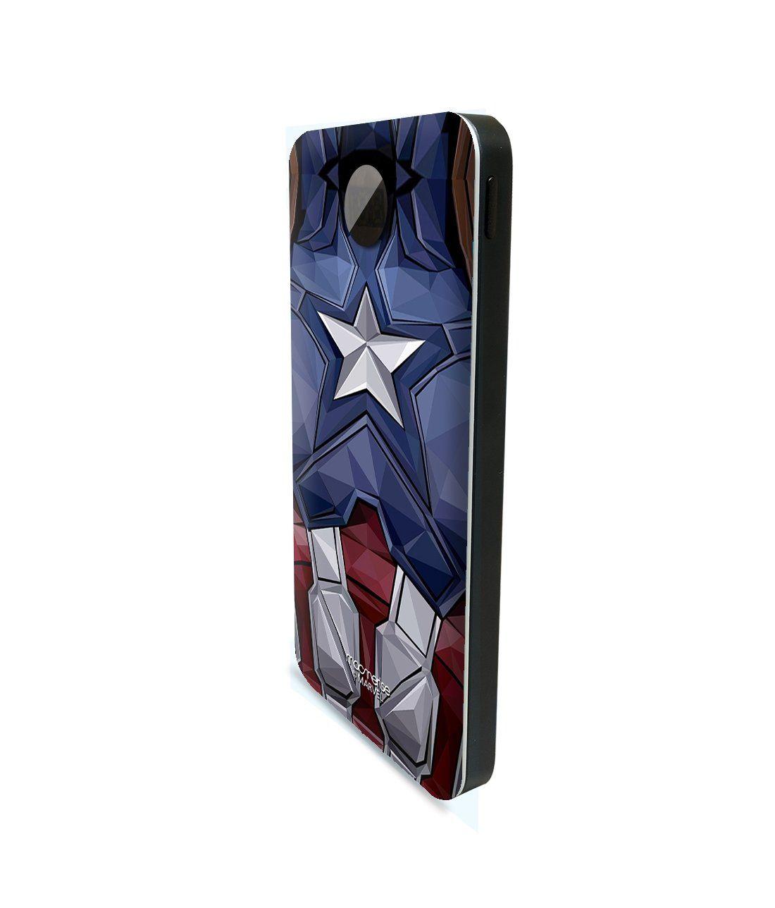 Captain America Vintage Suit - 10000 mAh Universal Power Bank