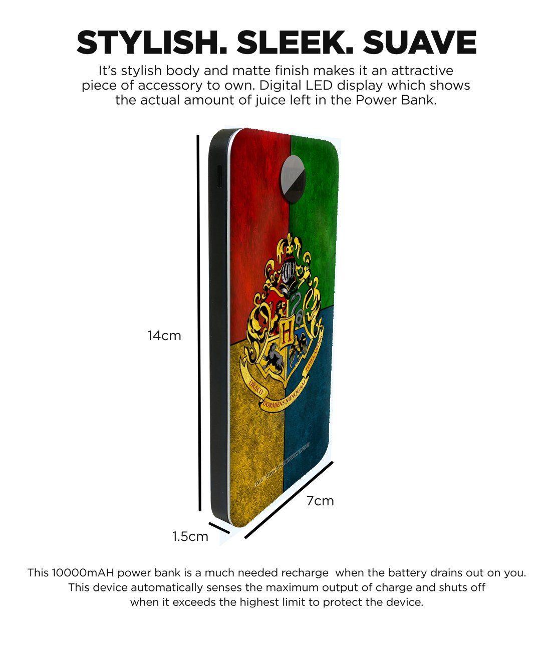 Hogwarts Sigil - 10000 mAh Universal Power Bank