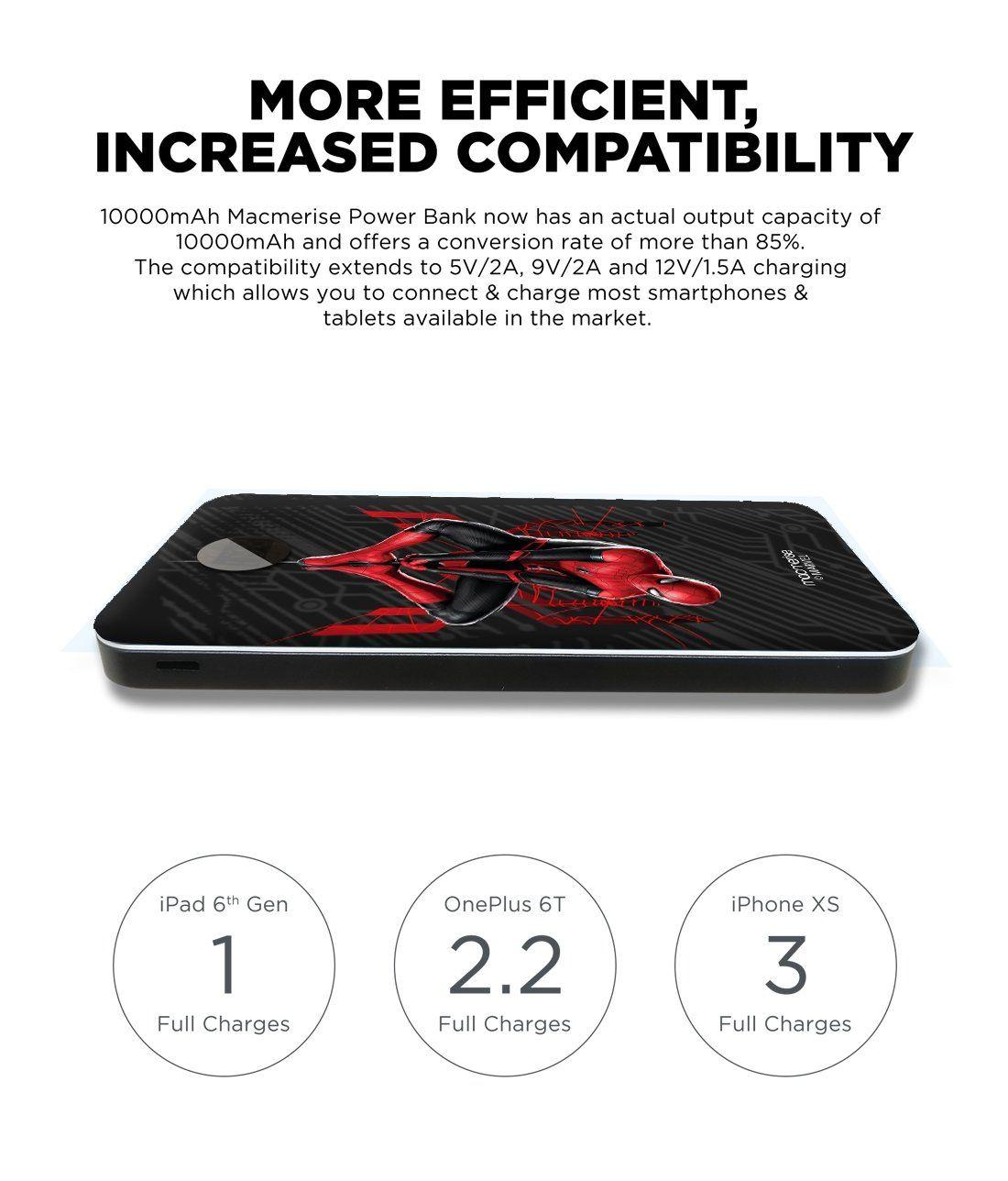 Spiderman Tingle - 10000 mAh Universal Power Bank