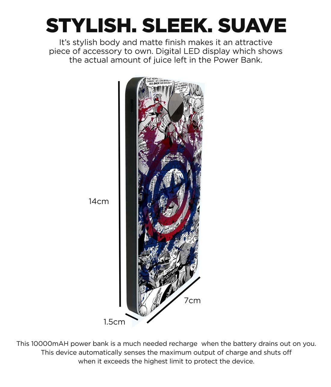 Splash Out Shield - 10000 mAh Universal Power Bank