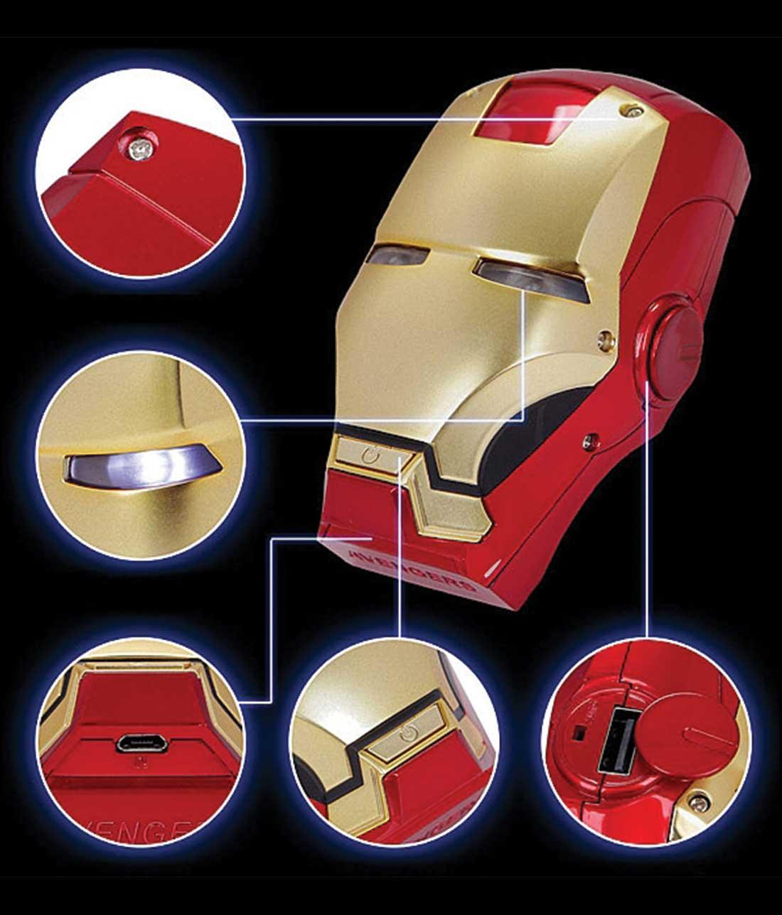 Ironman Helmet - 6000 mAh Limited Edition Powerbank