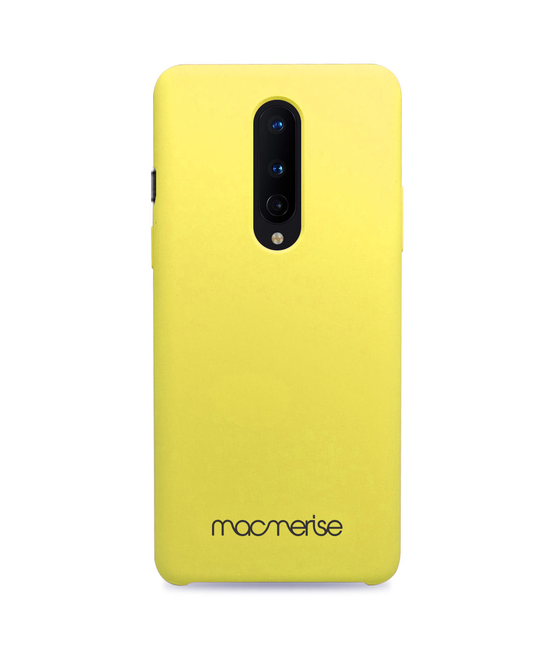 Silicone Phone Case Pineapple Yellow - Silicone Phone Case for OnePlus 8