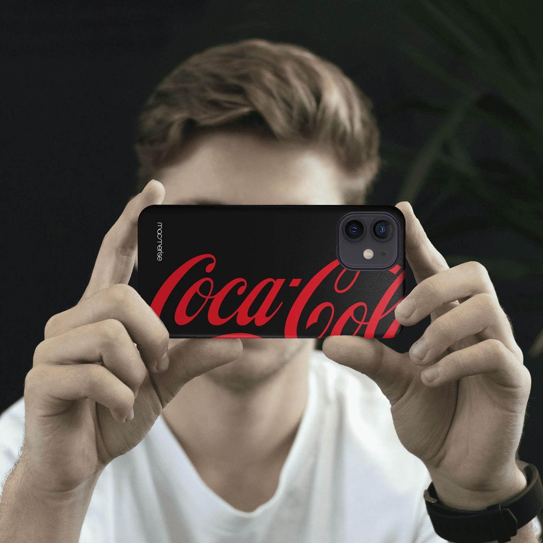 Coke Black Red - Sleek Case for iPhone 12