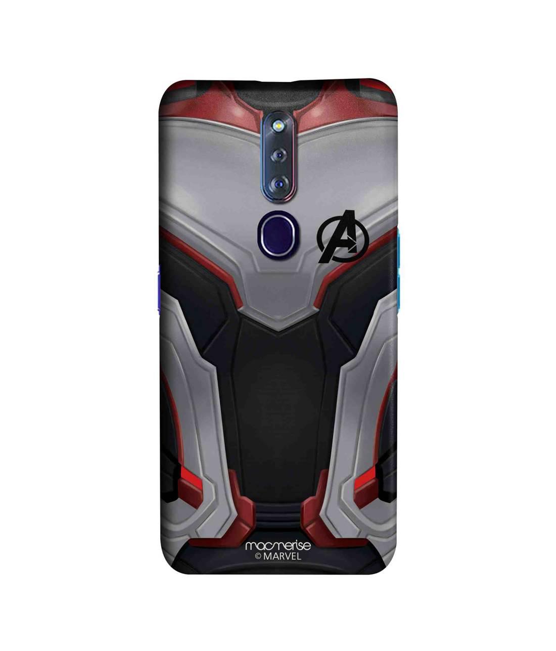 Avengers Endgame Suit - Sleek Phone Case for Oppo F11 Pro
