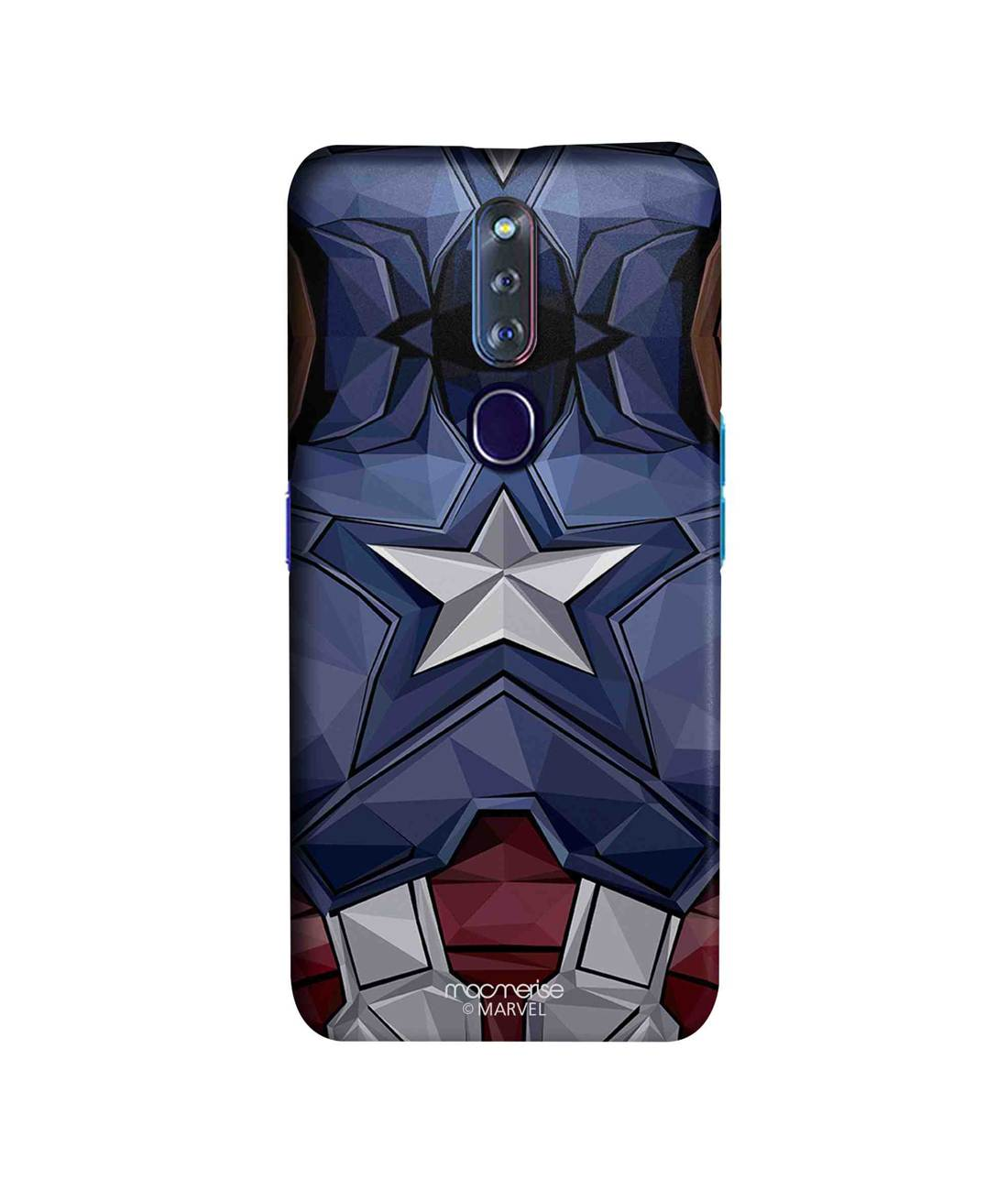 Captain America Vintage Suit - Sleek Phone Case for Oppo F11 Pro