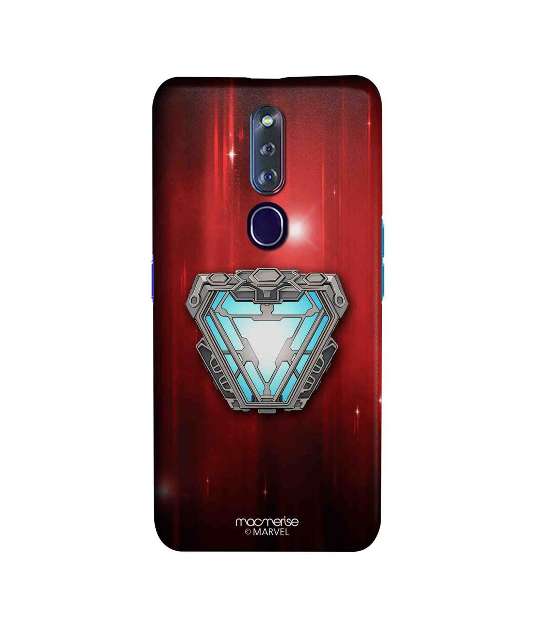 Iron man Infinity Arc Reactor - Sleek Phone Case for Oppo F11 Pro