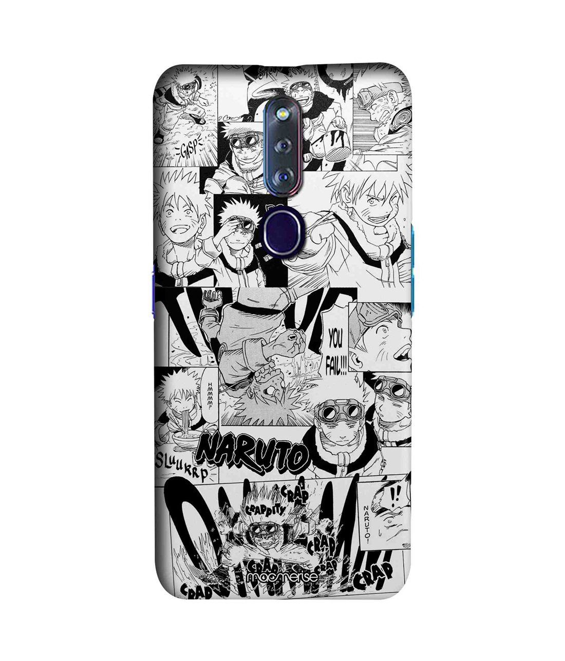 Naruto Collage - Sleek Phone Case for Oppo F11 Pro