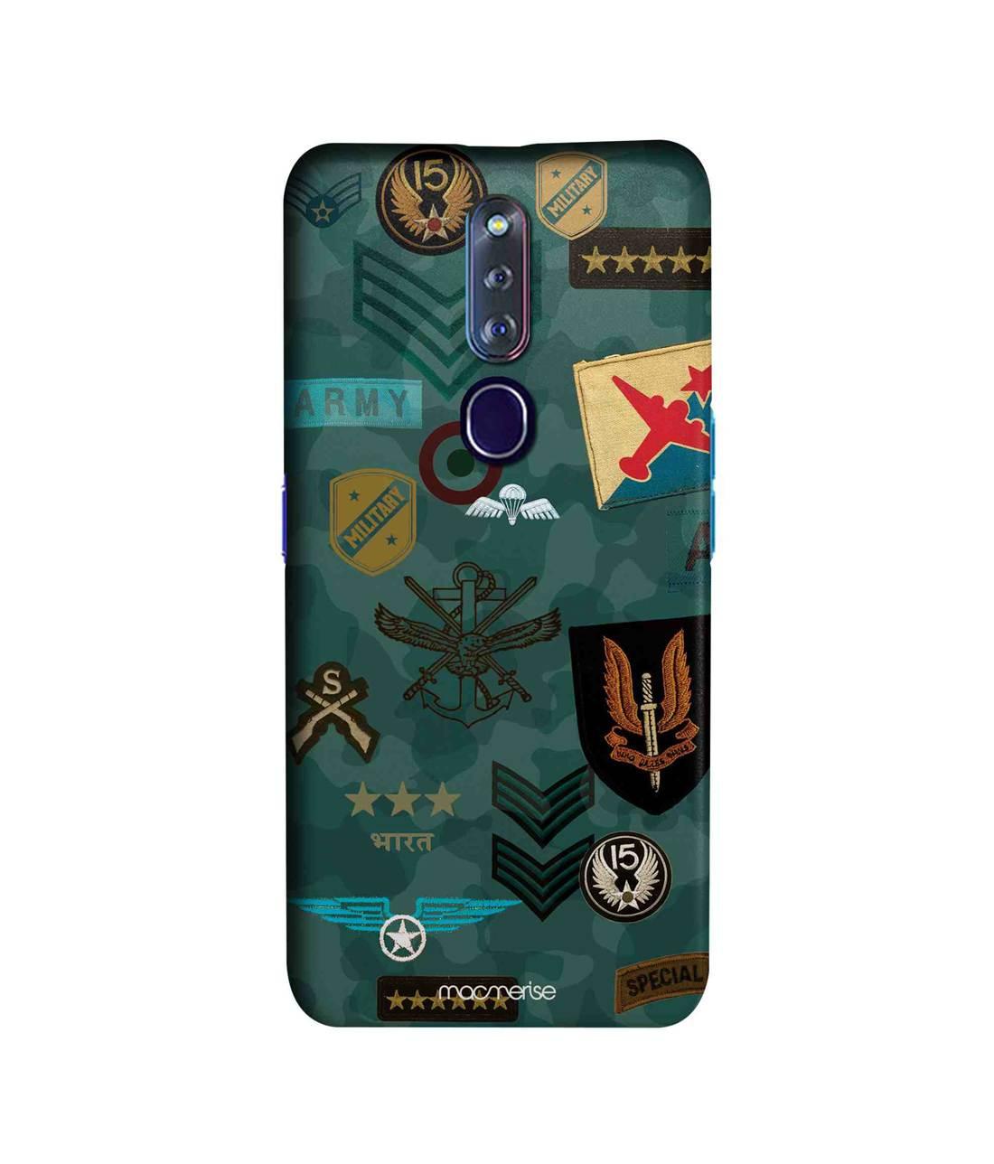 Roger That Blue - Sleek Phone Case for Oppo F11 Pro