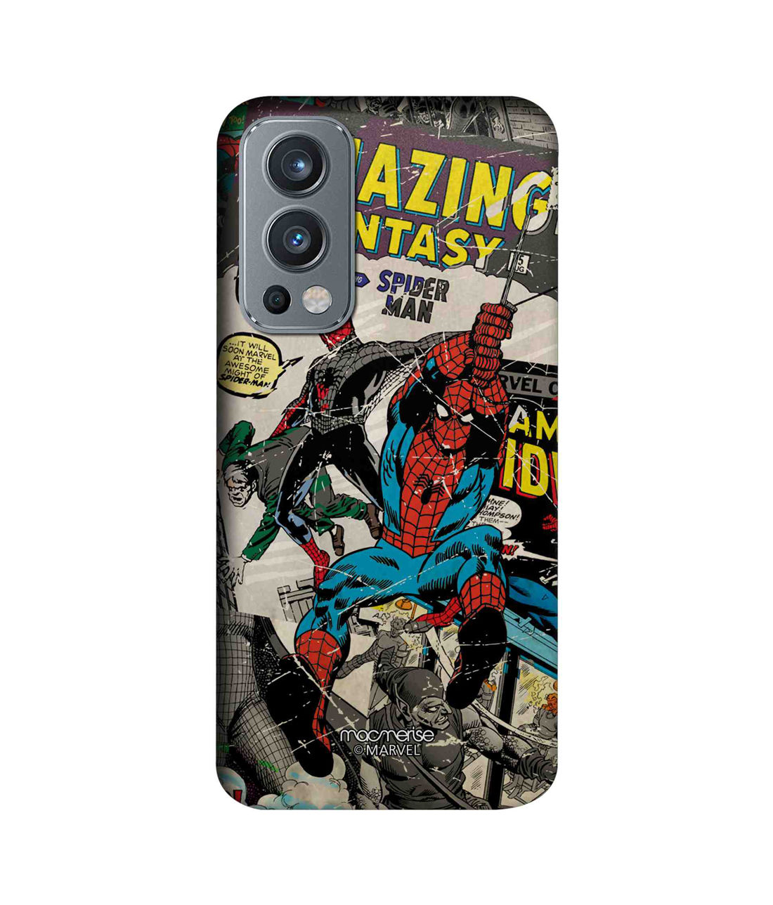 Comic Spidey - Sleek Case for OnePlus Nord 2