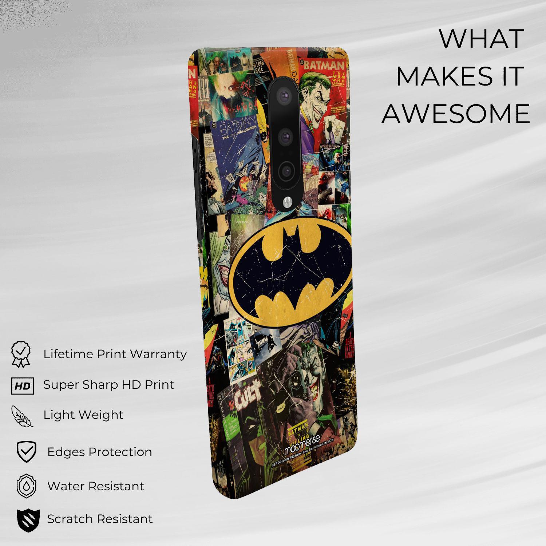 Comic Bat - Sleek Phone Case for OnePlus 8