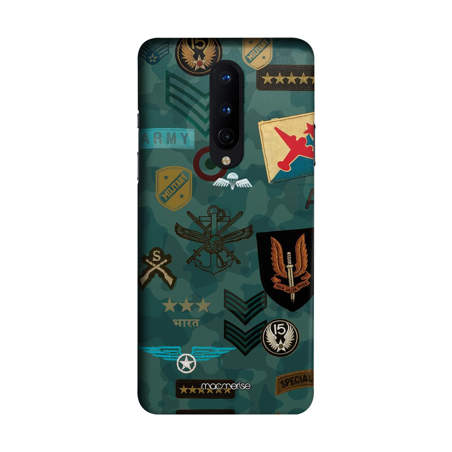 Roger That Blue - Sleek Phone Case for OnePlus 8
