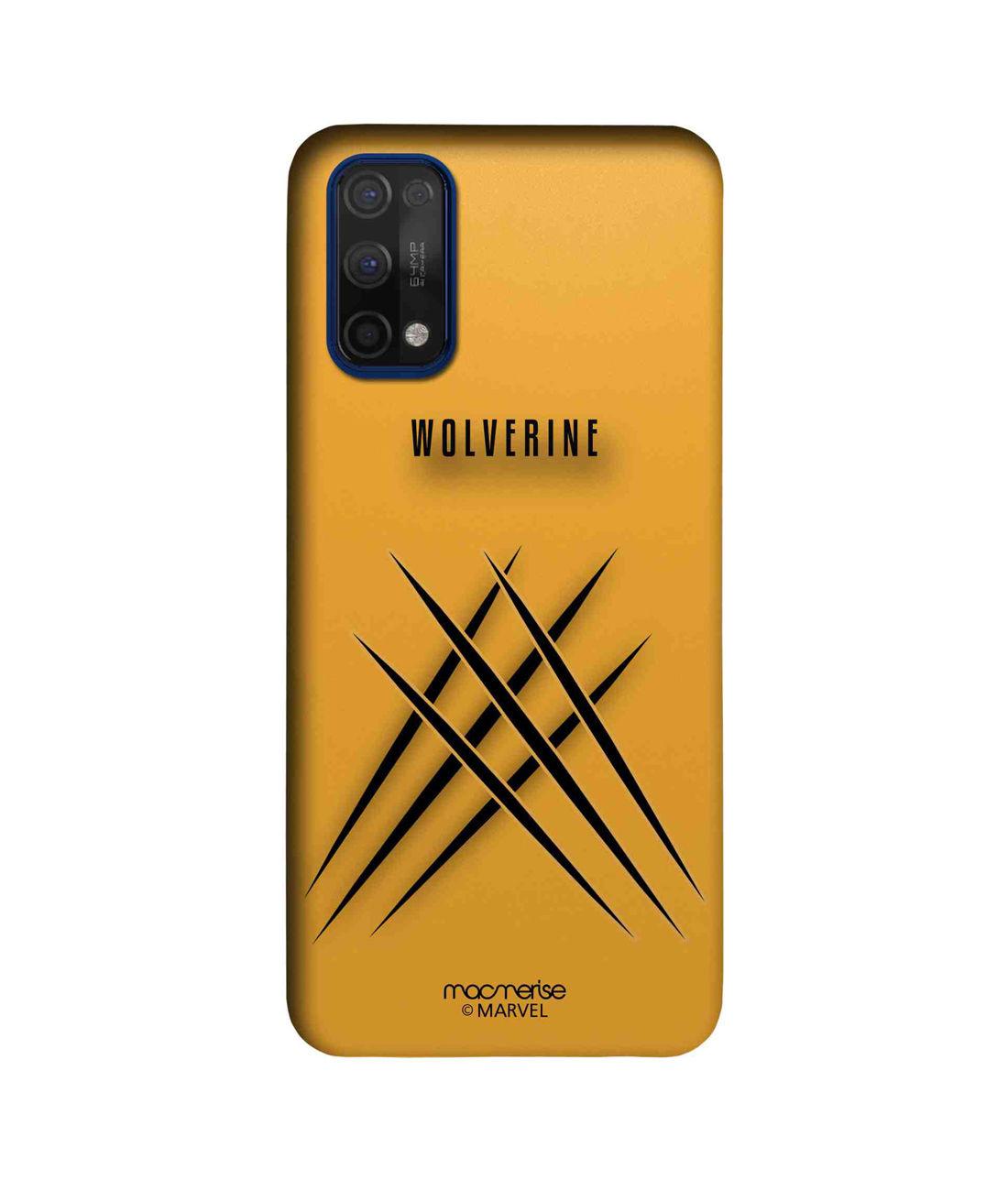 Minimalistic Wolverine - Sleek Case for Realme 7 Pro
