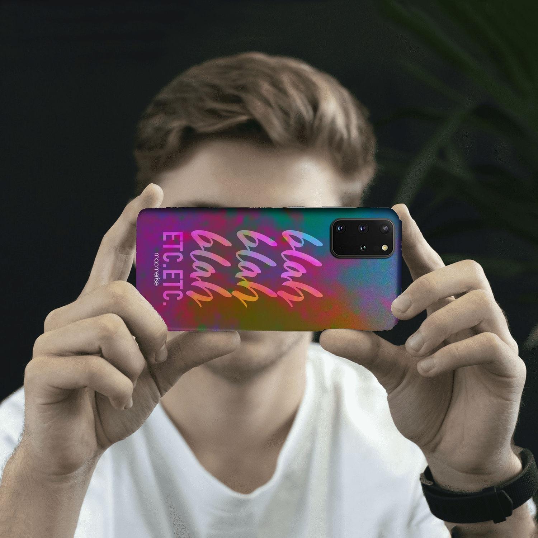 Blah Blah - Sleek Phone Case for Samsung S20 Plus