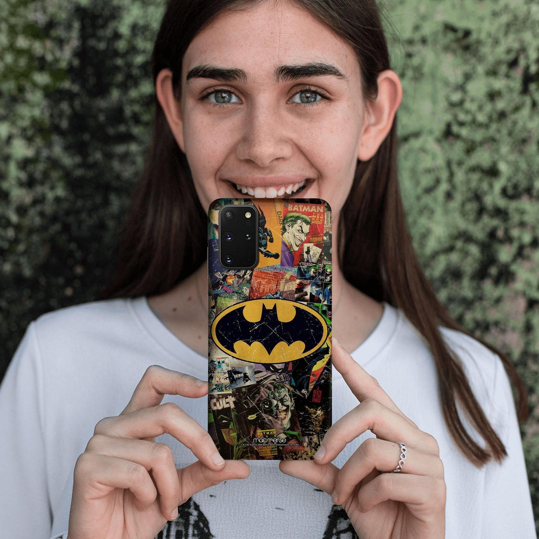 Comic Bat - Sleek Phone Case for Samsung S20 Plus