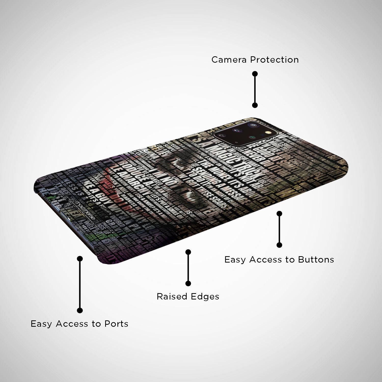 Joker Quotes - Sleek Phone Case for Samsung S20 Plus