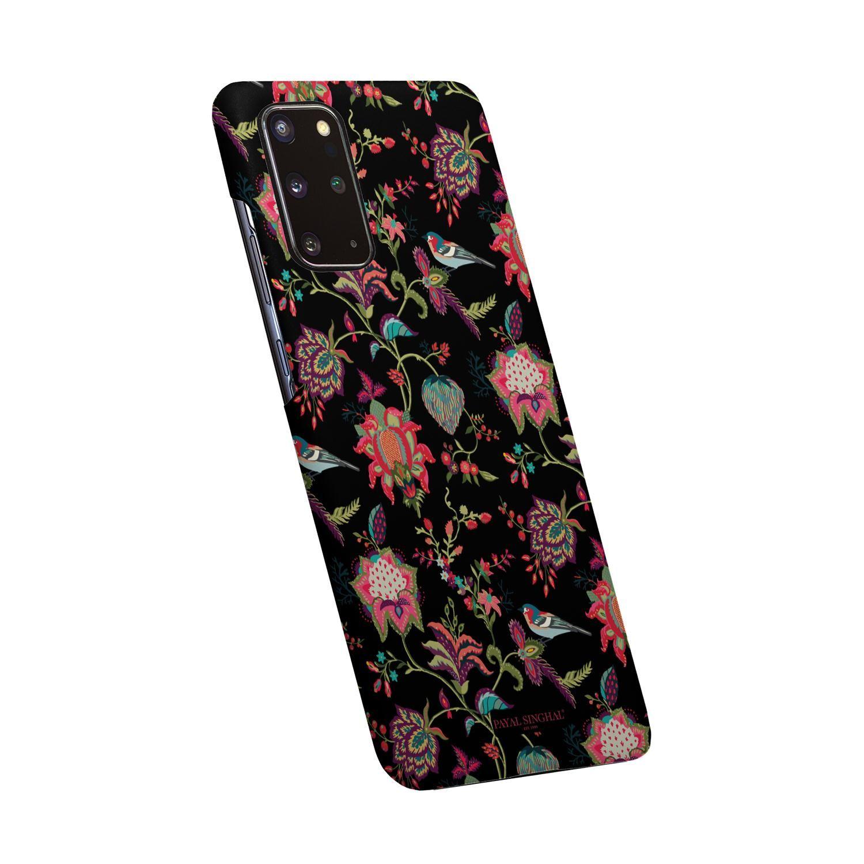 Payal Singhal Chidiya Black - Sleek Phone Case for Samsung S20 Plus