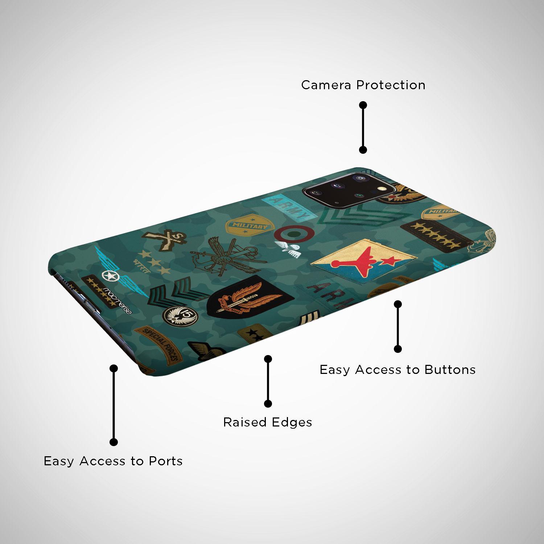 Roger That Blue - Sleek Phone Case for Samsung S20 Plus