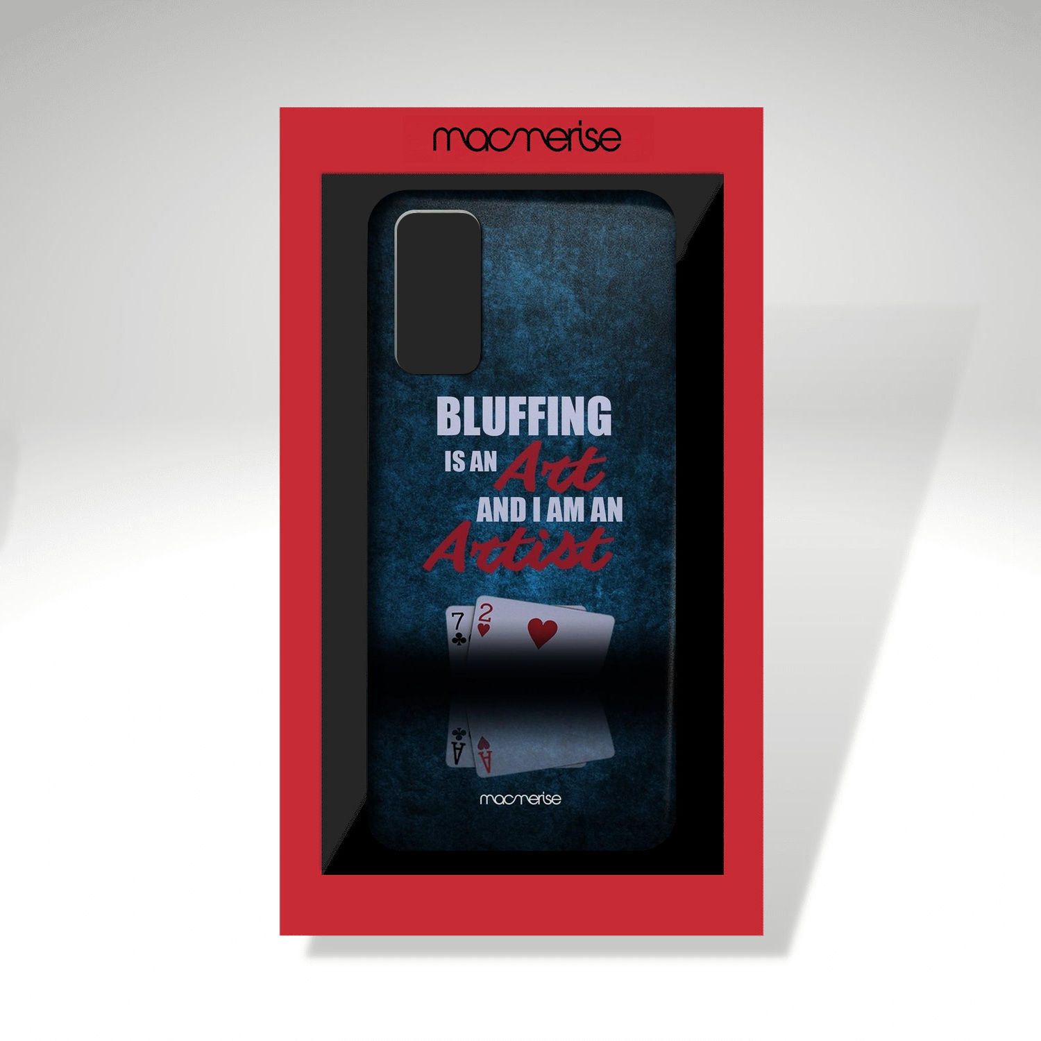 Art of Bluffing - Sleek Phone Case for Samsung S20