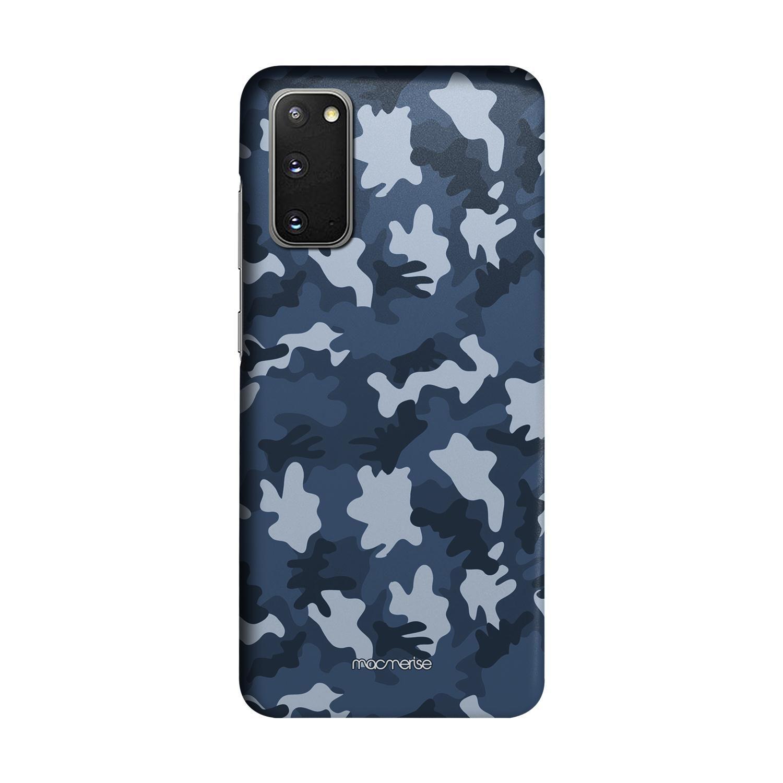 Camo Blue - Sleek Phone Case for Samsung S20