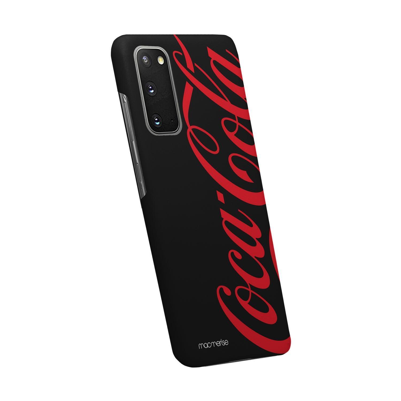 Coke Black Red - Sleek Phone Case for Samsung S20