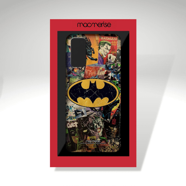 Comic Bat - Sleek Phone Case for Samsung S20