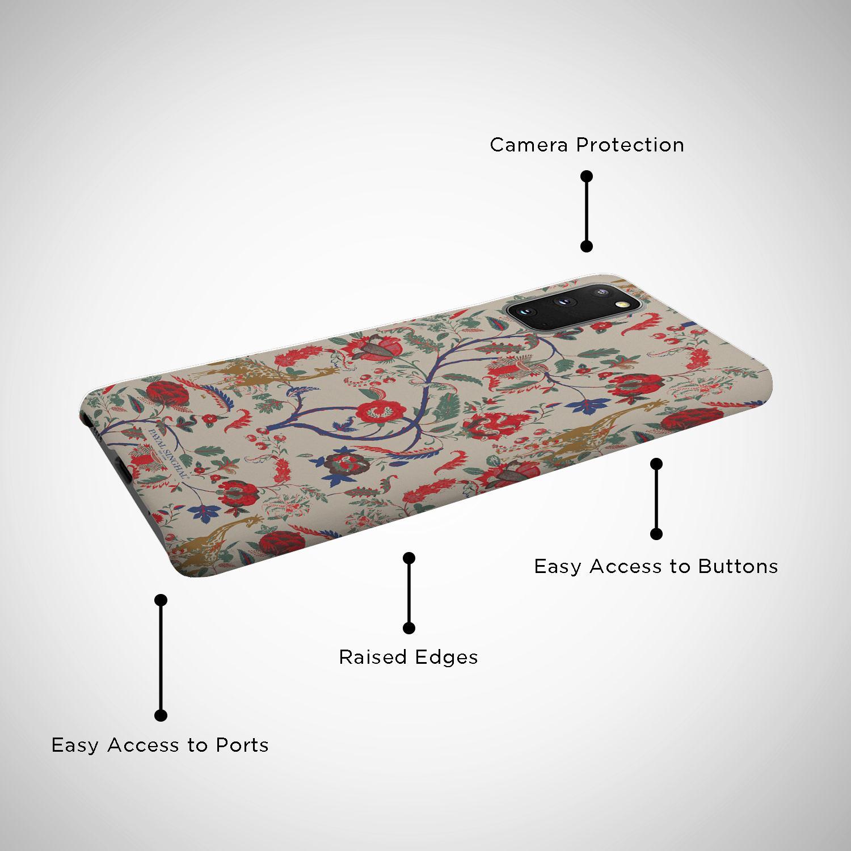 Payal Singhal Giraffe Print - Sleek Phone Case for Samsung S20