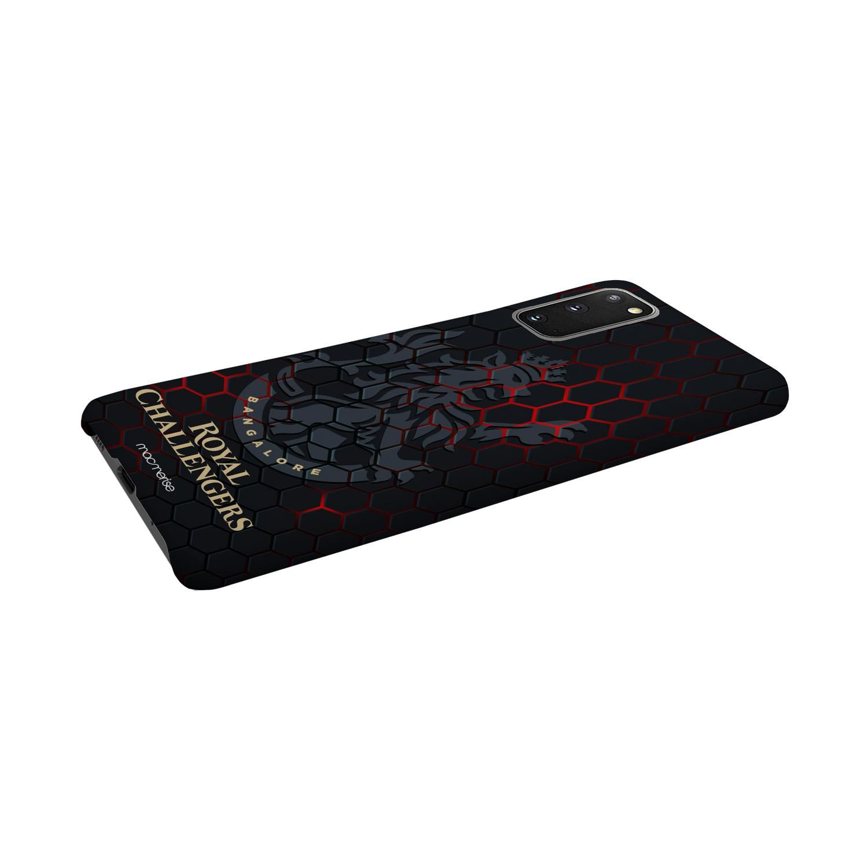 RCB Hex Pattern - Sleek Phone Case for Samsung S20