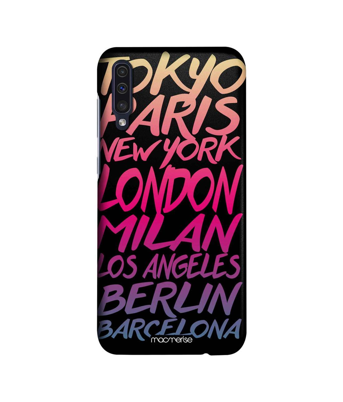 Fashion Cities - Sleek Phone Case for Samsung A50s