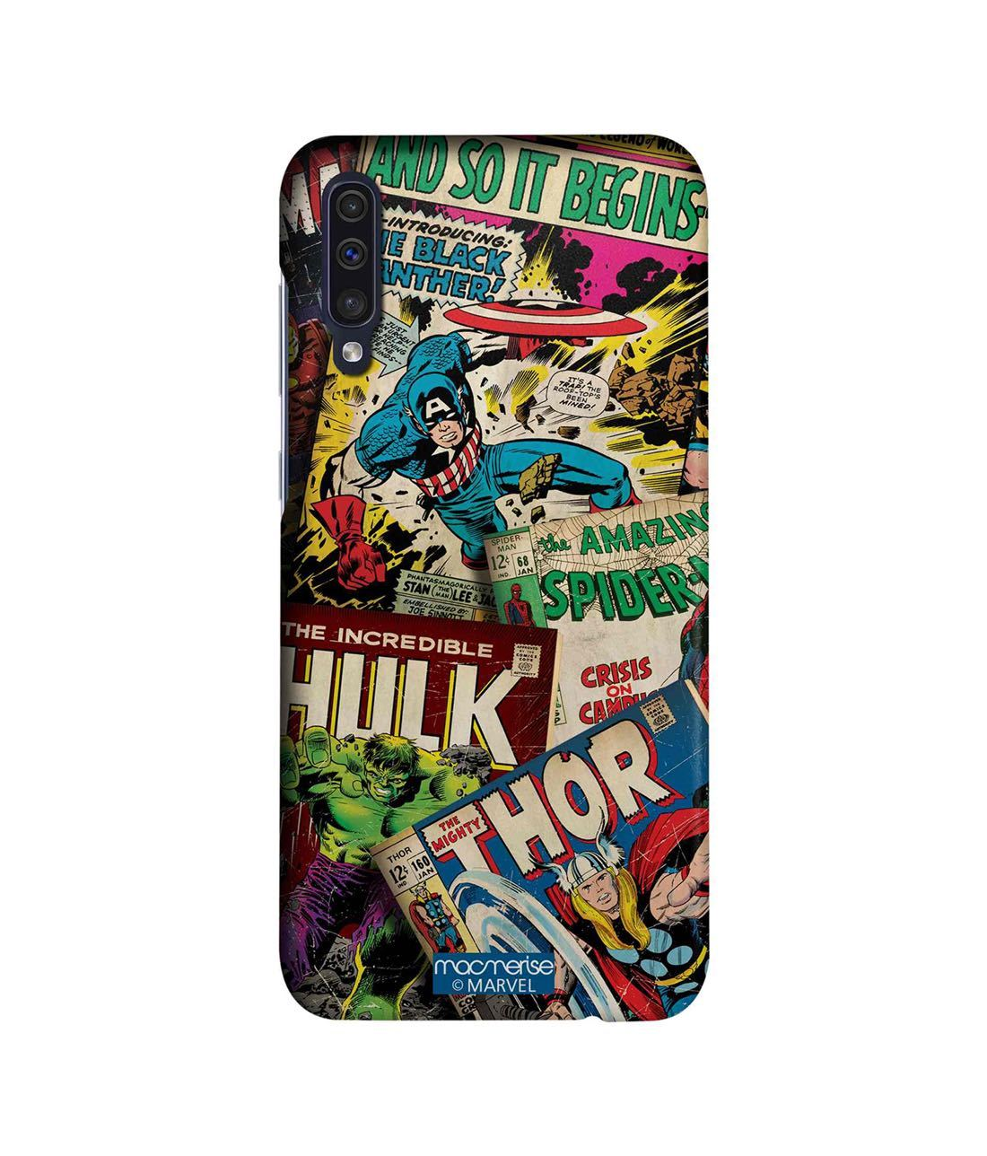 Marvel Comics Collection - Sleek Phone Case for Samsung A50s