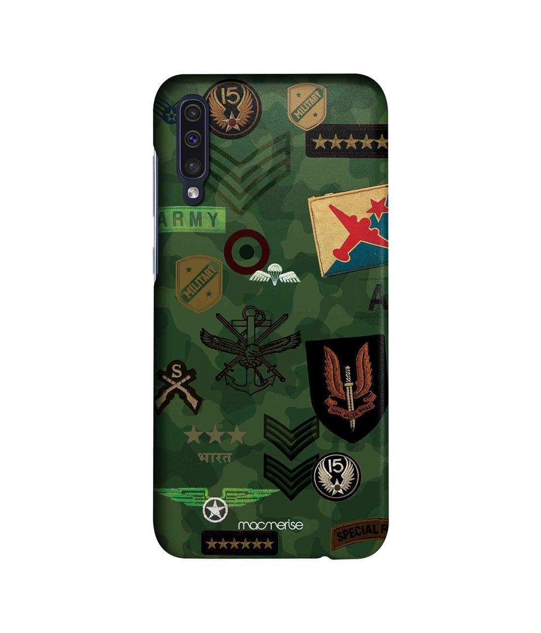 Roger That Green - Sleek Phone Case for Samsung A50s