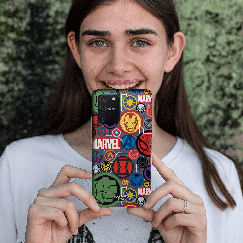 Marvel Iconic Mashup - Sleek Phone Case for Samsung S10 Lite
