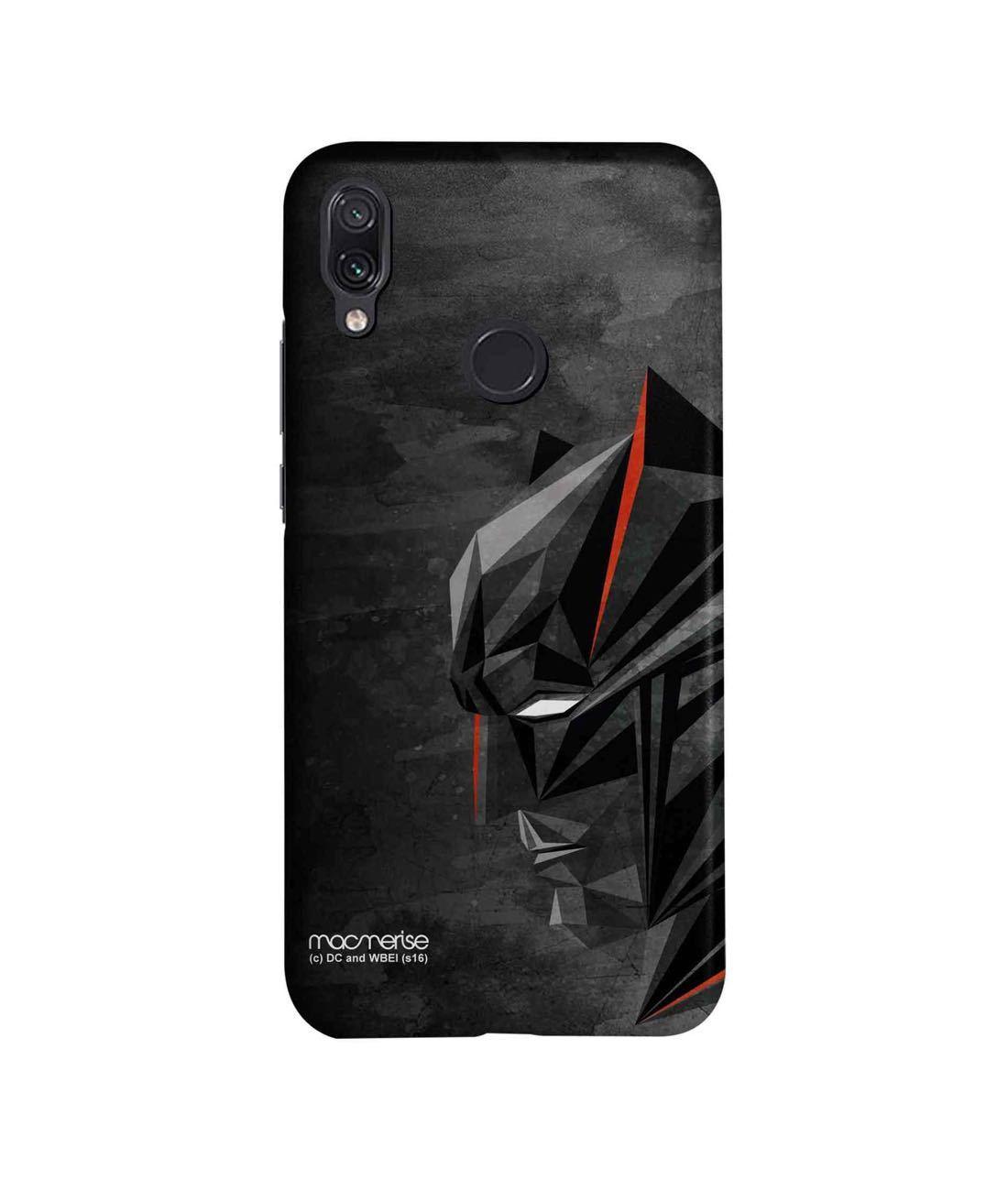 Batman Geometric - Sleek Phone Case for Xiaomi Redmi Note 7 Pro
